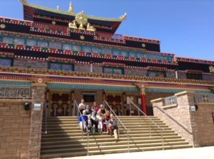 Leadership Embodiment retreat at Samye Ling monastery