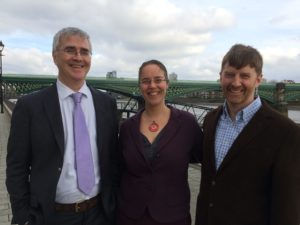John Tuite, Anouk Brack & James Knight of CEW